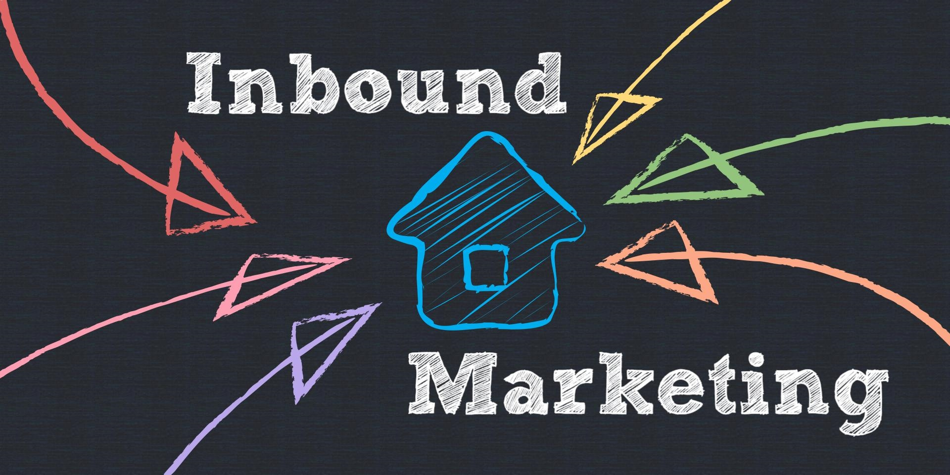 The four steps of inbound marketing